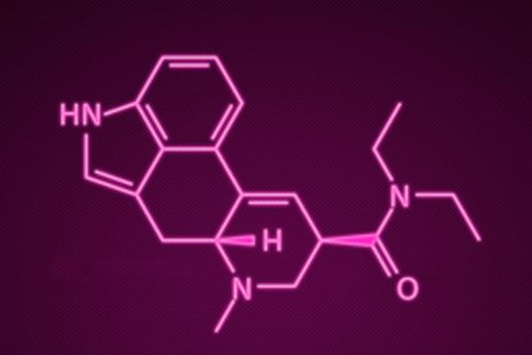Химическая формула ЛСД