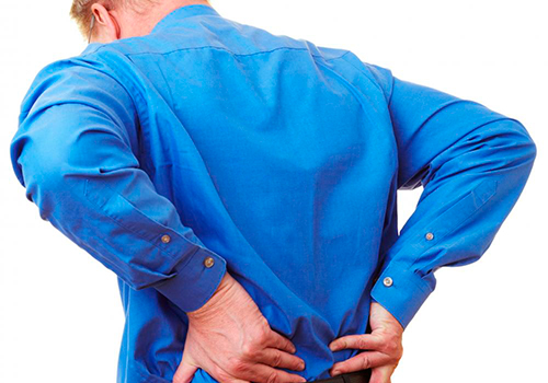 Боль в спине, возникающая при наклонах головы