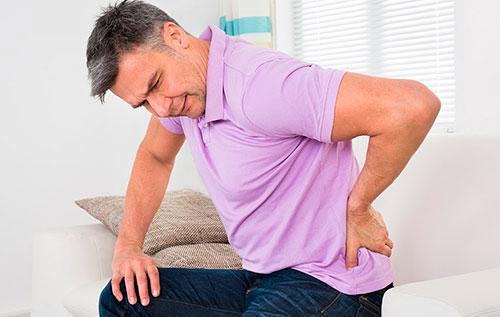 Боль в пояснично-крестцовом отделе при артрозе
