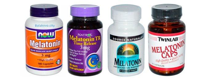 Снотворное Мелатонин