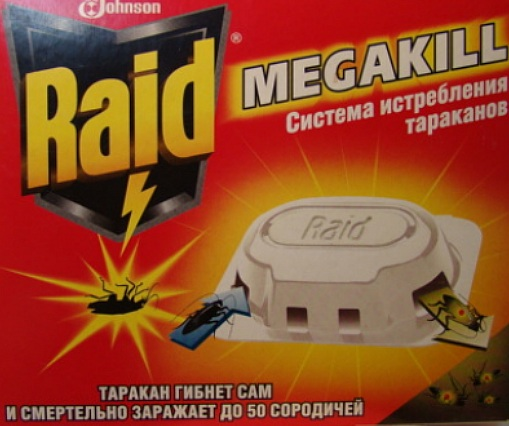 средство от тараканов рейд