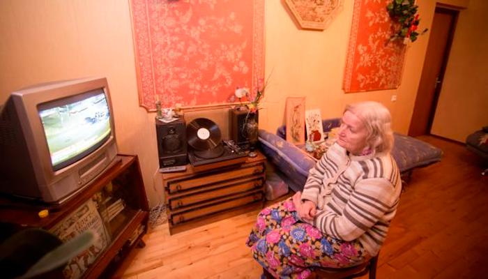 Увлечение сериалами пенсионеров