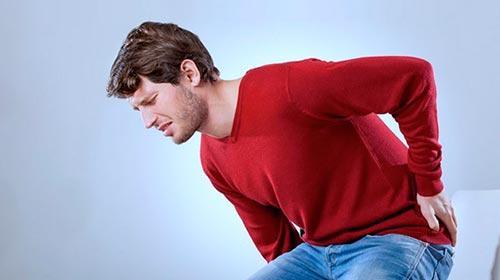 Боль в пояснице и копчике при остеохондрозе