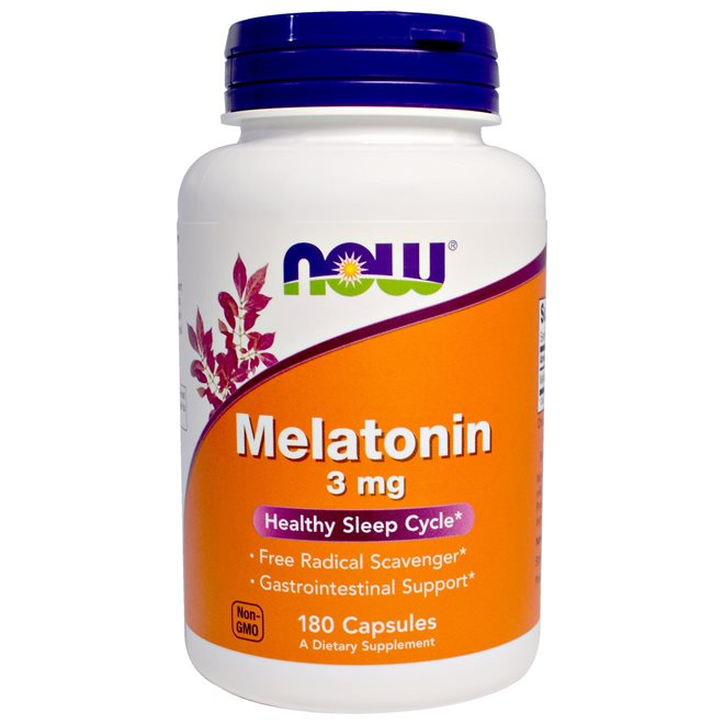 Melatonin Now Foods