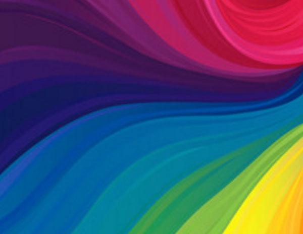 Разводы основных цветов