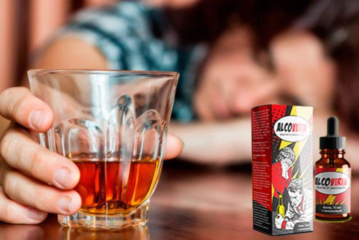 Алковирин способствует подавлению тяги к алкоголю