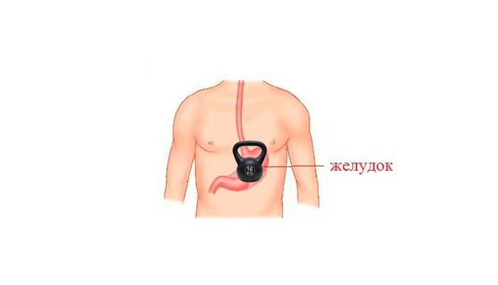 Тяжесть в желудке в случае персистирующей формы гепатита