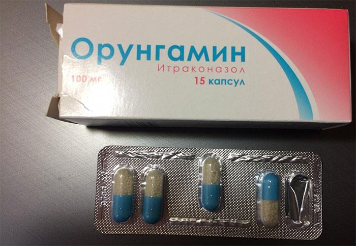 Орунгамин является противогрибковым препаратом широкого спектра действия