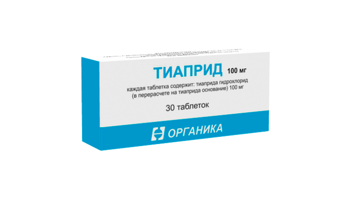 Тиаприд, как один из аналогов препарата Акампросат