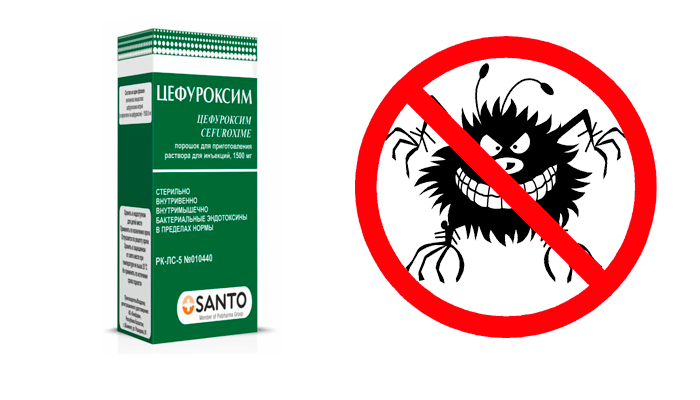 Антибактериальное действие препарата Цефуроксим