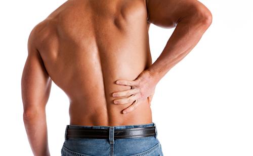 Боль в правой части спины