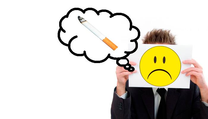 Плохое настроение при отказе от курения