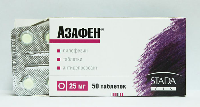 Азафен является психотропным препаратом группы антидепрессантов и обладает седативным эффектом