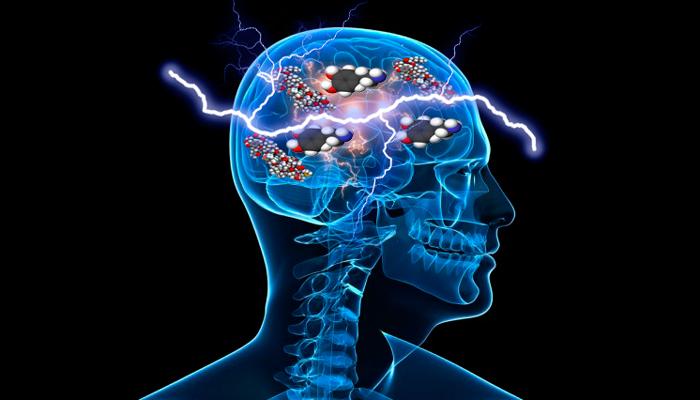 Нормализация уровня эндорфинов и дофамина в мозгу из-за пропускания через него тока