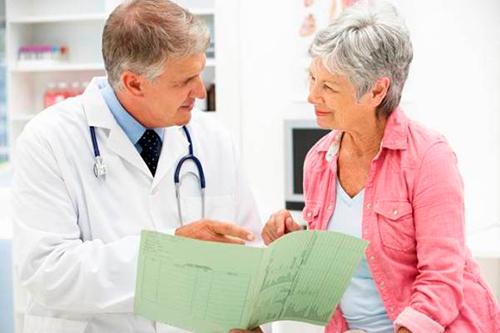 Консультация с врачем перед процедурой