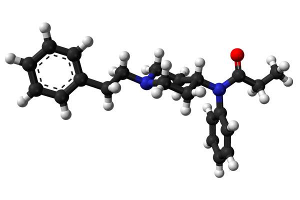 Химическая структурная формула Фентанила