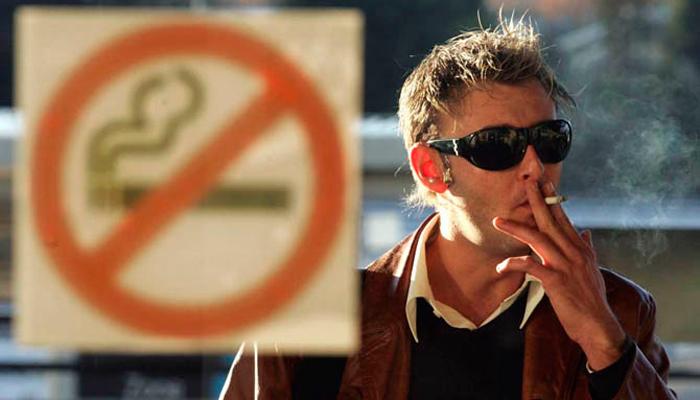 Игнорирования запрета на курение в общественных местах при табачной зависимости