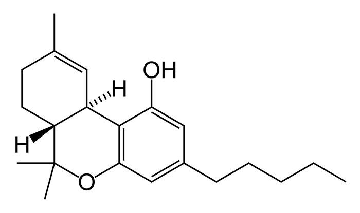 Химическая формула ТГК
