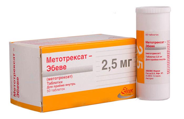 Метотрексат является химиотерапевтическим препаратом, относящимся к аналогам фолиевой кислоты