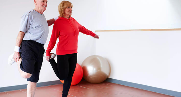 Упражнения для суставов колена