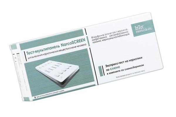 Тест на наркотики Narcoscreen