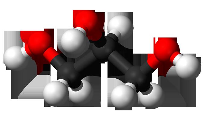 Структурная химическая формула глицерина