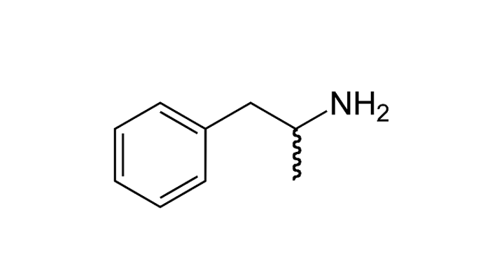 Химическая формула амфетамина